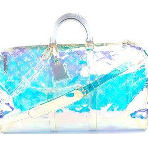 Keepall Virgil Prism Pvc Weekend/Travel Bag